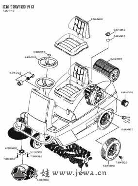 扫地车的结构是什么,如何保养和维护?-北京洁娃提供