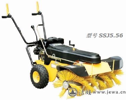 ssj5.56扫雪机厂家 批发滚刷扫雪机 北京扫雪机 扫雪机价格 手扶式扫雪图片